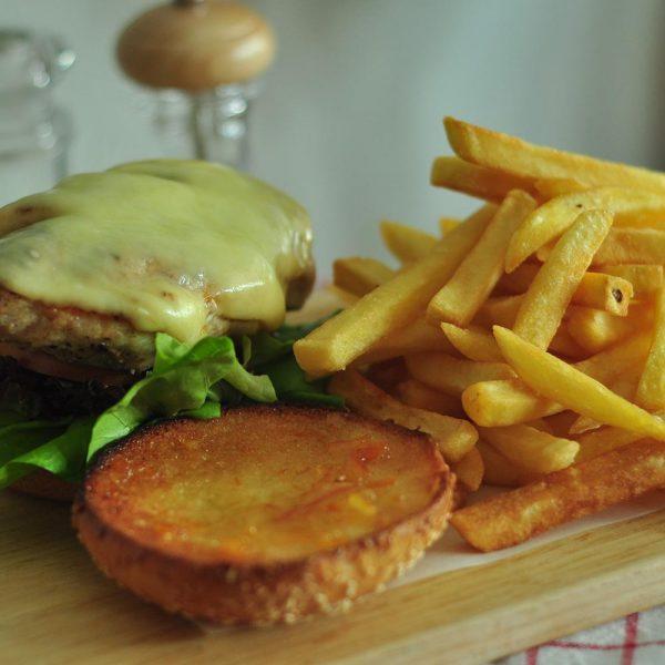 Chicken Bacon Avo Burger
